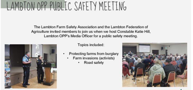 March 2020 Lambton OPP Public Safety Meeting